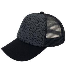 Wholesale Irregular Pattern - Cheap New Style Irregular Pattern Cotton Mesh Hats Adult Baseball Caps Snap back Caps Black Color Trucker Hats Men Women Wholesale