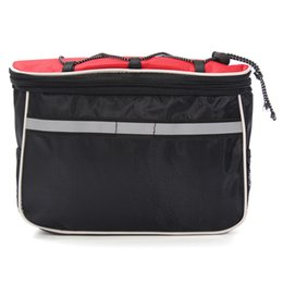 Wholesale Trunk Bag Panniers Waterproof - 4 in 1 Waterproof Cycling Bicycle Bag Top Tube Frame Panniers Double Side Rack Trunk Pouch Case with Rain Cover Accessory order<$18no track
