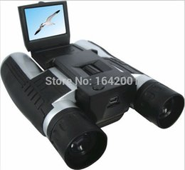 "Wholesale Hd Video Recorder Screen - 2016 newest Video Camera HD 1080P Digital Telescope Multi Function 4 in 1 Telescope Video Recorder DVR Camcorder 2"" screen"