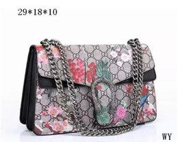 Wholesale Hollow Snake Chain - HOT!!New Designer Handbags snake leather embossed fashion Women bag chain Crossbody Bag Brand Designer Messenger Bag sac a main G Handbags