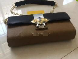Wholesale Damier Ebene - Brand New Woc Pochette Felicie Damier Azur Women pu Ebene Cross Body Bag Felicie Pochette Clutch designer Shoulder Handbag