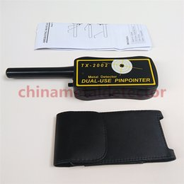 Wholesale High Sensitivity Gold Metal Detector - 2016 Top Grade Handheld Pinpointer Metal Detector TX-2002, High Sensitivity TX2002 Dual Use Metal Detectors Free Shipping