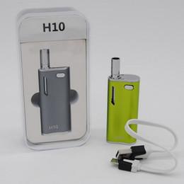 Wholesale Affordable Portables - 100% Original Hibron H10 Vaporizer Vape Ecig Kit with CE3 CA3 Atomizer Affordable Portable Personal Vaporizer 650mAh Capacity