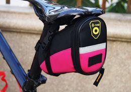 Wholesale Cushion Seat Bag - mountain bike saddle bag 122g back seat tool bag colorful cushion bag size 17*9.5*11.5cm free shipping