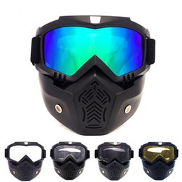Wholesale Motorcycle Protective Cover - Halley Cover Goggles Retro Jeep Motorcycle Eyewear Sports Goggles Protective Gear For Men Women Motorcycle Windproof Eyewear