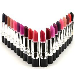 light lipsticks Promo Codes - Wholesale-hot M Long Lasting 20 Colors (Diva,Ruby Woo,Heroine,Russian Red,Cyber,Please Me,Pink Nouveau) Matte Lipstick