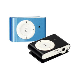 Wholesale Clip Mp3 Spy Hidden Camera - Mini MP3 Clip Music Player DVR Spy Hidden Camera Camcorder Digital Video Audio Recorder Cam Blue Black