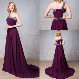 Cheap One Shoulder Long Gown Design | Free Shipping One Shoulder ...