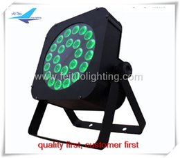 Wholesale Master Change - 2 pieces lot free shipping dj lighting led flat par 24x10w rgbw 4in1 color changing led par64