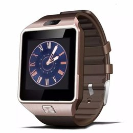 Wholesale Upgrading Windows - 10X selling Smart HD Watch phone GV08 upgrade HD DZ09 Sync Smartphone Call SMS Anti-lost Bluetooth Bracelet Watch for Men Women