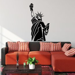 Statue Of Liberty New York Wall Decal Sticker Vinyl Art Living Room Home  Decor In Bulk Price Part 72