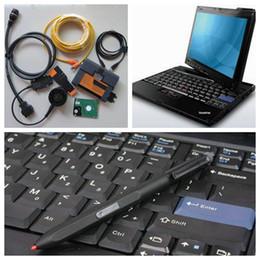 Wholesale Diagnostic Bmw Tools Isis - Newest For BMW ICOM A2 B C+I7 Laptop X201t 4gb for Lenovo+ICOM HDD ISIS Full Set ISTA For BMW ICOM A2 Diagnostic Tool