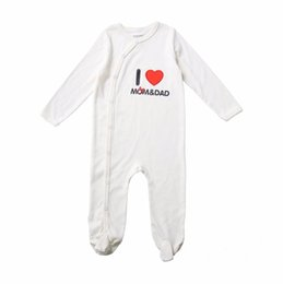 Wholesale Nice Cap Girl - Awesome Newborn Baby Unisex Clothing Set Cute Cotton Baby Rompers Boys Jumpsuit Long Sleeves Infant Pajamas with Nice Cap