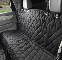 Wholesale Seat Pets Car - 58 x 54 inch Universal Vehicle Pet Seat Cover Folding Rear Non-slip Cushion Car Seat Multi-functional Design Car Seat with Hammock-Cover