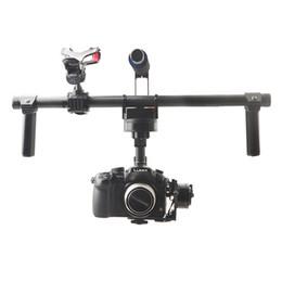 Wholesale Dslr Handheld - Wholesale-F16773 HG3D GH3 GH4 Nex 5N 5T 5R A5000 A6000 A7 Mini SLR FPV Brushless Handheld Gimbal DSLR Camera Mount Stabilizer