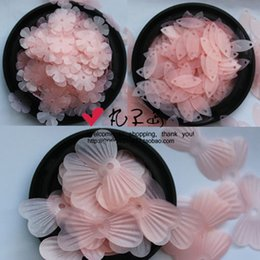 Wholesale Matte Sequins - Matte pink series DIY accessories beads sequins round egg-shaped flowers 40g