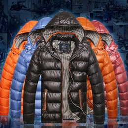 Wholesale Down Cotton Long Hooded Jacket - Fall-New Clothing Winter Jacket Men Outdoor Sport Hooded Parka Waterproof Down Coat Outerwear 22