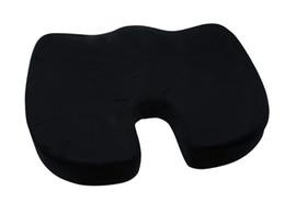Al por mayor- Negro Coxis Cojín Ortopédico Cojín Lumbar Soporte Confort Foam Office Pillow desde fabricantes