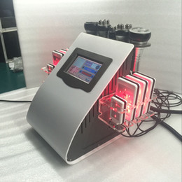 Wholesale Ultrasonic Tripolar - tripolar RF radio frequency fat weight loss ultrasonic cavitation machine diode laser lipo massage lipo laser slimming machine