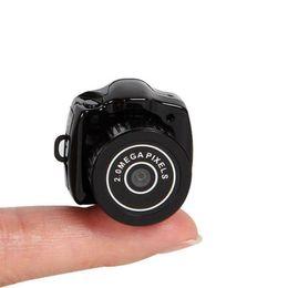 Wholesale Mini Camera Pocket Sport - Y2000 Mini Camera Digital HD Sport Camcorder Micro Cam Video Voice Recorder Webcam Mini HD Spy Video Camera Small Mini Pocket DV