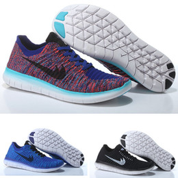 Wholesale Summer Mens Style Shoes - New Style free run 5.0 running shoes factory outlet 9 color purple mens sports sneakers men's trainers shoes free shipping