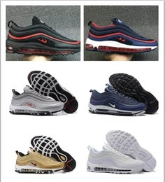 Wholesale Mens Shoes Names - Wholesale Hot Sale Cheap Max 97 name brand sneakers maxes kpu running shoes for men training runners outdoor shoe mens hiking sneakers