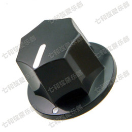 Wholesale Electric Guitar Parts Knobs - 02 Guitar Parts Electric bass guitar knob cap potentiometer cap musical instruments accessories