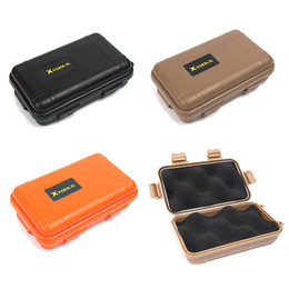 Wholesale family cases - Small Size Outdoor Travel Shockproof Plastic Waterproof Box Storage Case Airtight Container Carry Box For EDC Tools