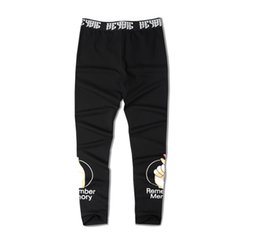 Wholesale Dead Fly - Dead fly skateboard Tide brand Slim Legging Seasons leggings pants pants basketball fitness pants male thin tide
