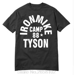 Wholesale Iron Mike - Wholesale- 2017 Fashion Iron Mike Camp 88 Tyson tops tees O-Neck Fashion t shirts Men Cotton T-shirt Hop Hip shirt