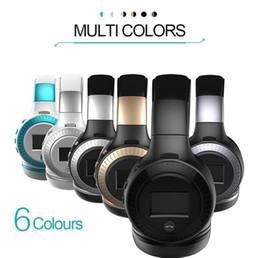 Wholesale Original Brand Bluetooth - Original Zealot B19 Stereo Wireless Headset Bluetooth headphone Headband Headset with FM TF LED indicators for IPHONE SAMSUNG mp3