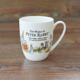 Wholesale China Coffe - Wholesale- Free shipping Peter Rabbit Mug Ceramic Mug Coffe Cup Milk Breakfast Cup High quality 2017