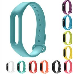 Wholesale Cheapest Smart Watches - 2017 Cheapest Silicone Wrist Strap Bracelet Replacement Wristbands for Original Miband 2 Xiaomi Mi band 2
