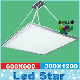 Wholesale Led Light Suspended Ceiling - Suspended LED panel 48W light 600*600mm led panel 4800LM high brightness SMD2835 Ceiling Light warranty 3 years CE RoHS UL FCC