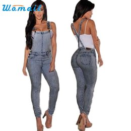 Wholesale Denim Jumpsuit 12 - Wholesale- Women's Fashion Summer Sexy Empire Waist Slim Fit Casual Baggy Loose Jeans Denim Overalls Pants Jumpsuit Long Romper MAY 12
