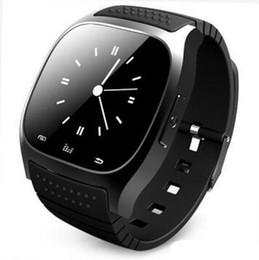Часы Smartwach носимое устройство Smartwatch Bluetooth Smart Watch M26 для iPhone IOS Android Windows Phone Wear подключен cheap smart watch bluetooth windows phone от Поставщики смарт-часы bluetooth windows phone