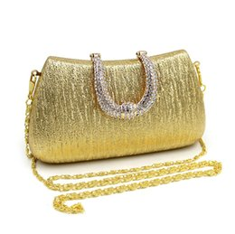 Wholesale Pretty Handbags - black and silver evening bag shoulder bags party purses for women purses ladies handbags pretty clutch bags