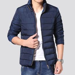 Wholesale Hooded Mens Light Jacket - autumn Mens Casual Parkas cheap Hooded plus size light thin Parkas male Windbreaker Jackets Coats white Outerwear