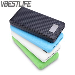 Wholesale Power Bank Box Shell - VBESTLIFE No Battery) 7x18650 DIY Portable Battery Power Bank Shell Case Box LCD Display Dual USB Powerbank Protector Case Cover