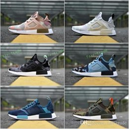 Wholesale Rubber Duck Shoes Sale - 2017 Hot Sale Drop Shipping Cheap Famous NMD XR1 Navy White Army Green Duck Camo Womens Mens Sports Running Shoes Size 36-44