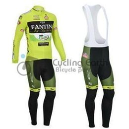 Wholesale Vini Fantini Cycle Jersey - 2015 VINI FANTINI men cycling Jersey kit in winter autumn fall with long sleeve bike top & (bib) pants in cycling clothing, bicycle wear