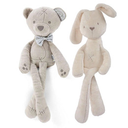 Wholesale Mini Plush Bunnies - Cute Rabbit Bunny Baby Soft Plush Toys Mini Stuffed Animals Kids Baby Toys Smooth Obedient Sleeping Rabbit 0601678