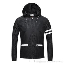 Wholesale Medusa Hoodie - Luxury Fashion Brand Long Sleeve 3D sanke print jacket Men Casual windbreaker hooded jacket Tiger printing Medusa silk jacket hoodies