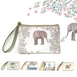 Wholesale Mini Cute Cell Phone - 2016 new creative cartoon cute coin purse Square mobile phone package Ladies fashion mini bags key wallet
