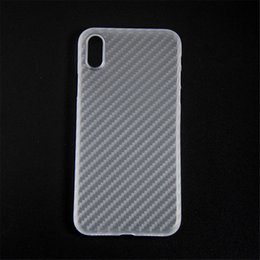Wholesale Iphone Saw - Ultra Slim Soft Case for iPhone X - Clear Matte Cover - Flexible PP Shell - See Through Skin Protector Faceplate (Through white)(2017)