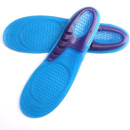 Wholesale Export Shoes - Medical Silicone Shoe Insoles High Export Quality Insoles for Men and Women Heel Cushion Invisibility Pain Relief Foot for Sport