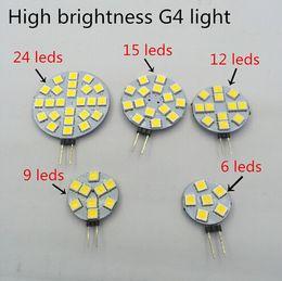 Wholesale G4 Boat Light - LED Bulb Lamp DC 12V 5050 SMD Dimmable LED Light Bulb 120 Degree G4 LED Mini Bulb Lamp for Home Car Marine Boat