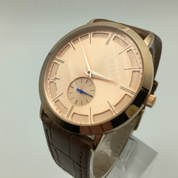 Wholesale Dresses Time - High Quality Replica Luxury Watch Classic Mens Leather Fashion Watch Gift Quartz male clocks montre reloj mujer AAA Casual Dress Watch Men