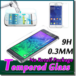 Wholesale Galaxy Grand Screen Guard - 9H Premium Guard Film Screen Protector Tempered Glass For Samsung Galaxy Grand 2 Alpha G850 Note 2 G530 G350 G313 G355 S7562 S7262 Free DHL