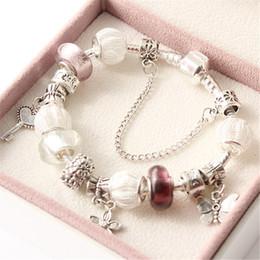 Wholesale Pandora Cross Charm New - New fashion Summer jewelry Vintage Bracelets for Mother Day's Gift Charms Pandora Bracelet & Bangle fit Euorpean bracelet BR160407006